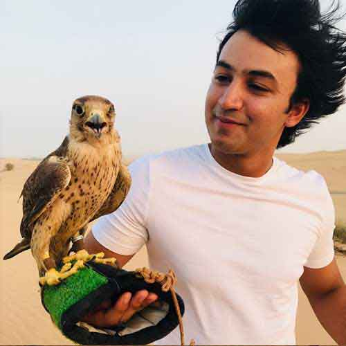 Photo With Falcon