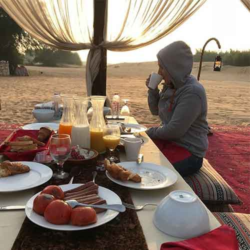 Breakfast In Desert