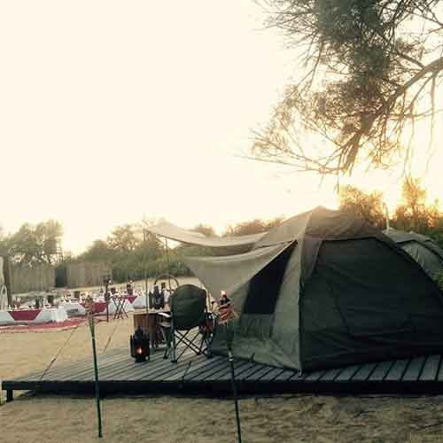 Tents For Overnight stay
